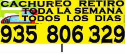 Enseres ,material En Desuso Retiro Cachureo 935 806 329.-------