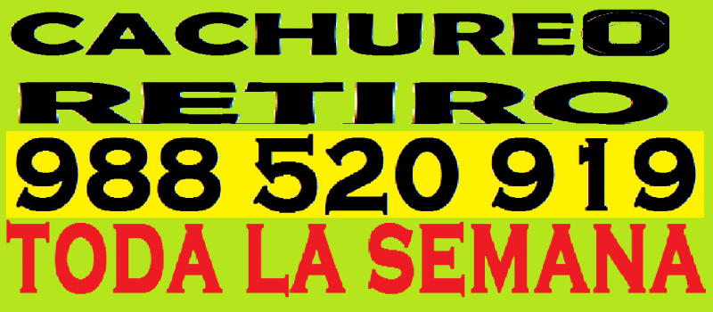 988 520 919 cachureos varios despuntes bisuterias chicherias todo reciclaje.-