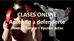 Aprende defensa con karate táctico y boxeo
